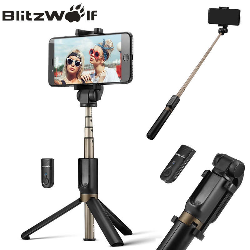 BlitzWolf BW-BS3 - лучшая селфи-палка / трипод