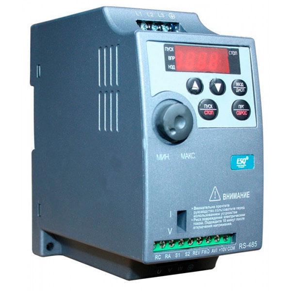 Частотный преобразователь ESQ-210-2S-0,7K