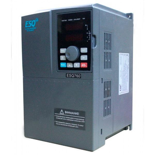 Частотный преобразователь ESQ-760-4T0900G/1100P