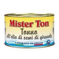 "Тунец филе в масле ""Mister Ton"" 160 гр"