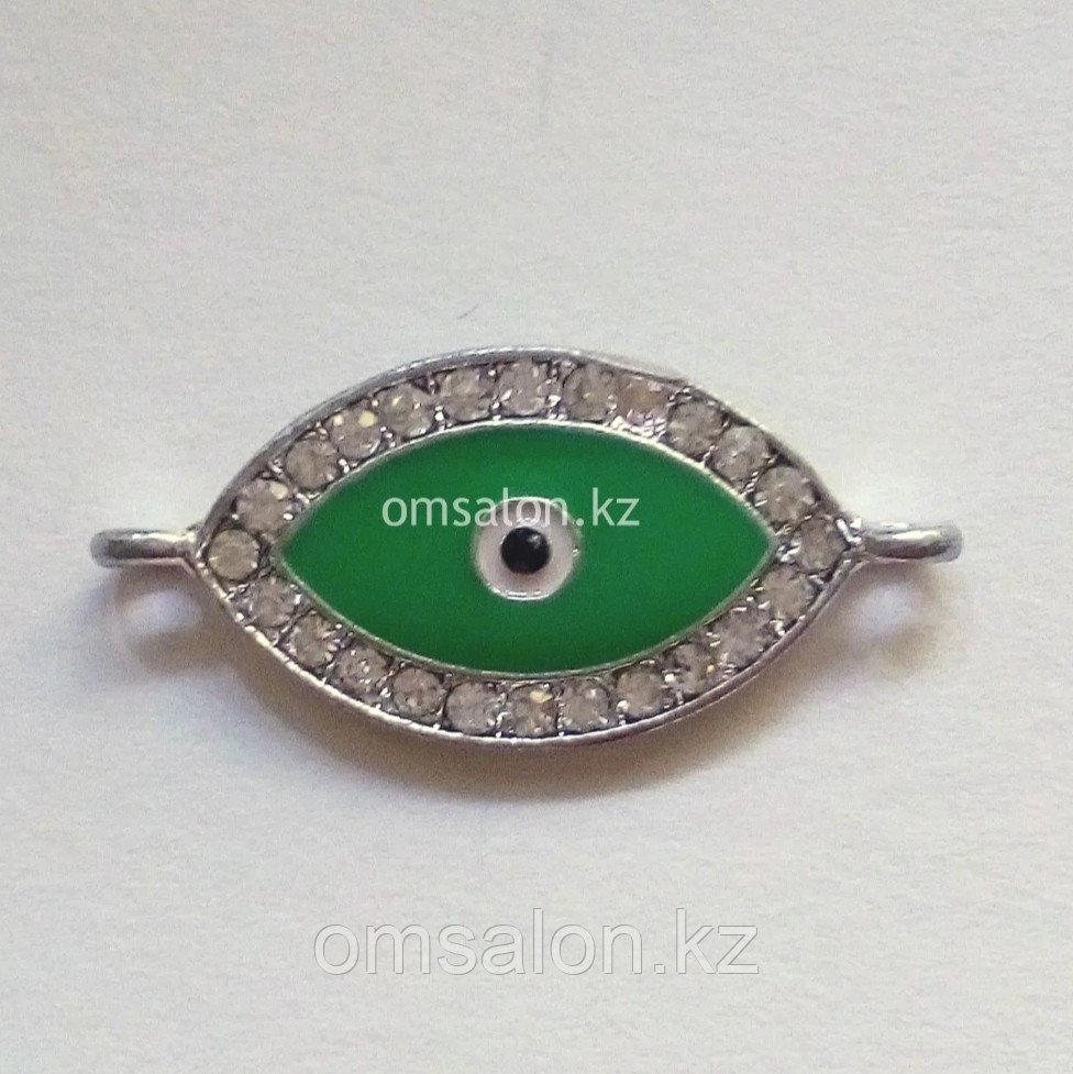 Коннектор Глаз от сглаза, 32х15мм