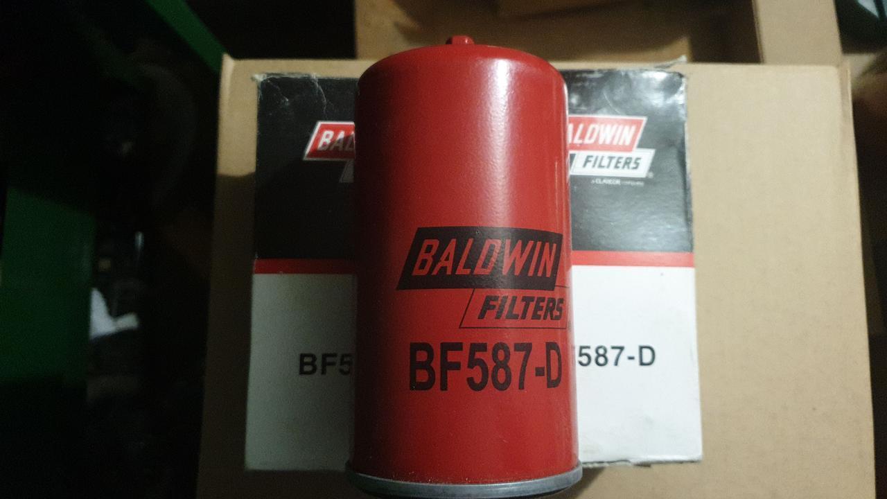 D77/H155(M16x1.5) Baldwin BF587-D топливный фильтр, Spin-on