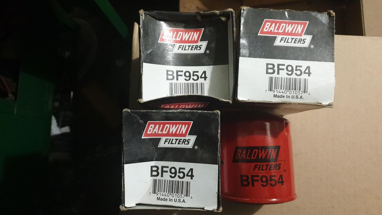D77/H87(3/4-16) Baldwin BF954 топливный фильтр, Spin-on (накручивающийся)