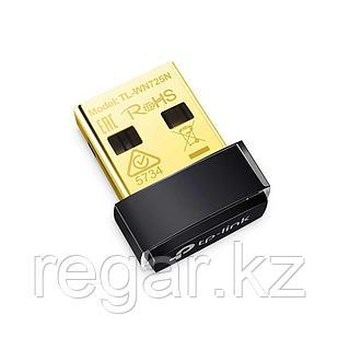 Маршрутизатор TP-Link 150 Мбит/с Беспроводной Nano USB-адаптер серии N, размер Nano, чипсет Realtek, 2,4 ГГц, 802.11b/g/n, интерфейс USB 2.0,