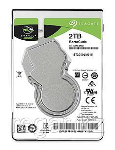 """Накопитель на жестком магнитном диске Seagate Жесткий диск HDD 2Tb Seagate Barracuda ST2000LM015 2.5"""" SATA 6Gb/s 128Mb 5400rpm"""