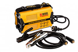 Аппарат инверторный дуговой сварки DS-200 Compact, 200 А, ПВ 70%, диаметр электрода 1,6-5 мм Denzel