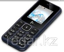 Телефон сотовый F+ F195 Dark blue, 1.77'' 128x160, 260MHz, 1 Core, 32MB RAM, 32MB, up to 16GB flash, 2 Sim, BT v2.1, Micro-USB, 600mAh, 71g, 114,2
