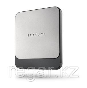 """Накопитель на жестком магнитном диске Seagate Внешний твердотельный накопитель Seagate Fast SSD STCM500401 500ГБ  2.5"""" USB 3.1 TYPE C Black"""