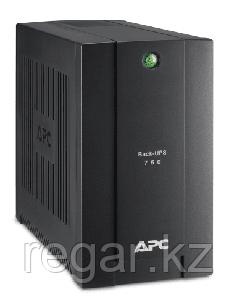 Источник бесперебойного питания APC Back-UPS BS, OffLine, 750VA / 400W, Tower, Schuko, USB