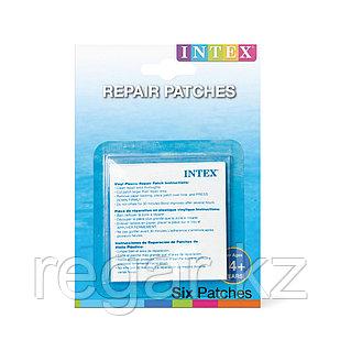 Набор для ремонта надувных изделий Intex 59631NP (в упаковке 6 шт заплаток)