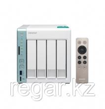 Сетевое оборудование QNAP Сетевой RAID-накопитель, Qnap D4 Pro, 4 отсекa для HDD