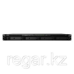 Сетевое оборудование Synology Сетевой NAS сервер Synology RS819   4xHDD 1U NAS-сервер All-in-1