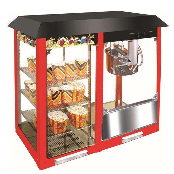 Аппарат для приготовления попкорна VBG-918 c витриной (AR)