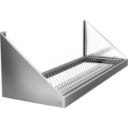 Полка настенная для сушки посуды ПНТ 12/3 (на 44 тарелки)