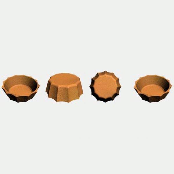 Блок-форма Тарталетка Песочные часы к печи ПЭМ-2У