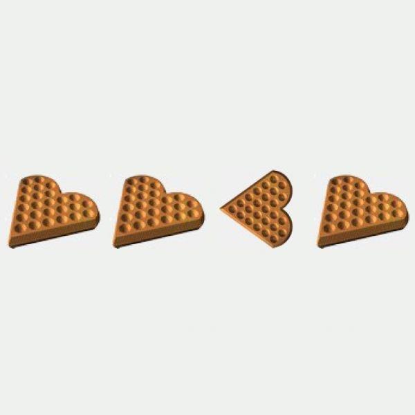Блок-форма Сердце Конус к печи ПЭМ-2У