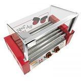 Аппарат приготовления хот-догов WY-007 (AR) гриль роликовый, фото 5