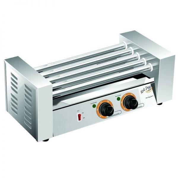 Аппарат приготовления хот-догов WY-005В (AR) гриль роликовый