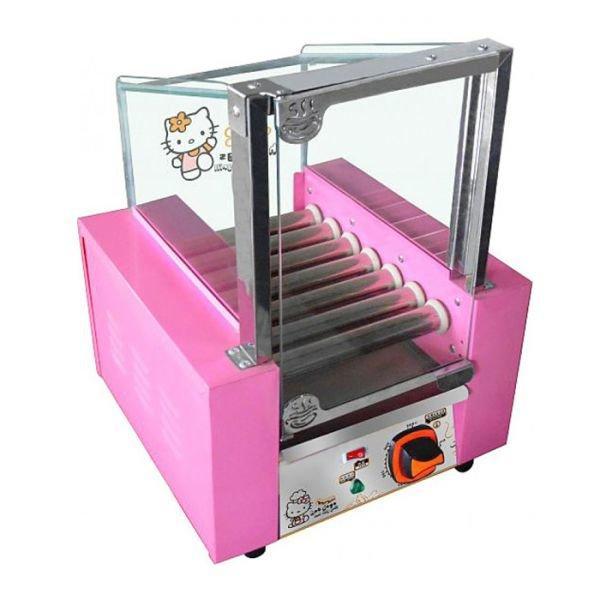 Аппарат приготовления хот-догов WY-007 ( Kitty) (AR) гриль роликовый