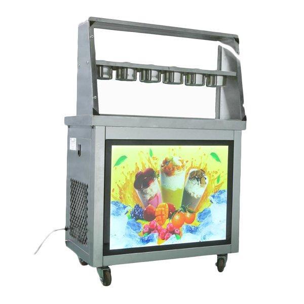 Фризер для ролл мороженого KCB-2Y Foodatlas (контейнеры, 2 компрессора)