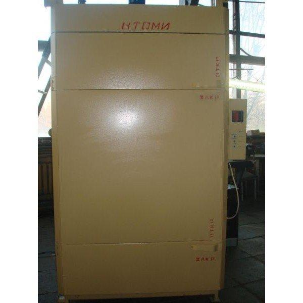 Термокамера КТОМИ-300 (нержавейка внутри с форсункой + парогенератор) (с тележкой)