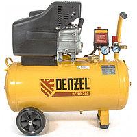 Компрессор воздушный PC 50-260, 1,8 кВт, 260 л/мин, 50 л, 10 бар Denzel