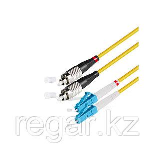 Патч Корд Оптоволоконный FC/UPC-LC/UPC SM 9/125 Duplex 3.0мм 0.5 м