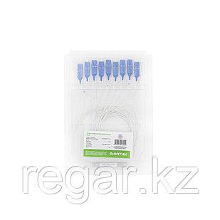 Сплиттер оптоволоконный PLC А-Оптик 1х8 SC/UPC 1,5m SM