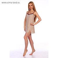 Сорочка женская, цвет МИКС, размер 52