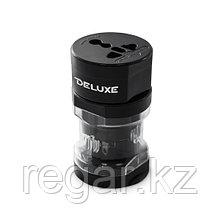 Универсальный адаптер Deluxe DWTA002B Чёрный