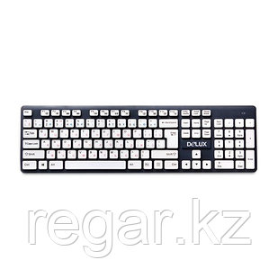 Клавиатура Delux DLK-150GW