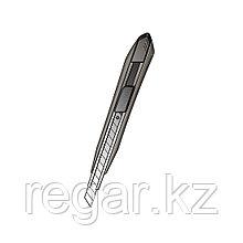 Нож канцелярский Comix B2837, 9 мм., металлический (блистер)