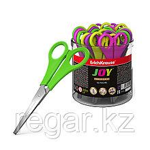Ножницы ErichKrause® Joy, 13.5см (в тубусе по 24 шт.)