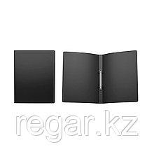 Папка на 2 кольцах пластик. ErichKrause® Classic, 24мм, A4, черный (в коробке-дисплее по 12 шт.)