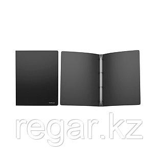 Папка на 4 кольцах пластик. ErichKrause® Classic, 24мм, A4, черный (в коробке-дисплее по 12 шт.)