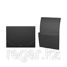 Папка-картотека пластиковая  ErichKrause® Classic, с 6 отделениями, A4, черный (в дисплее по 6 шт.)