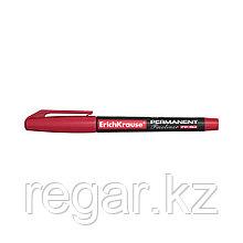 Перманентный лайнер ErichKrause®  FP-50, цвет чернил красный (упак./12 шт.)