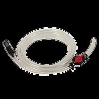 Шланг к инжектору вентури для подачи удобрений Комплект: шланг, регулирующий кран, фильтр