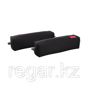 Пенал квадро mini ErichKrause® 210x50x50мм Black