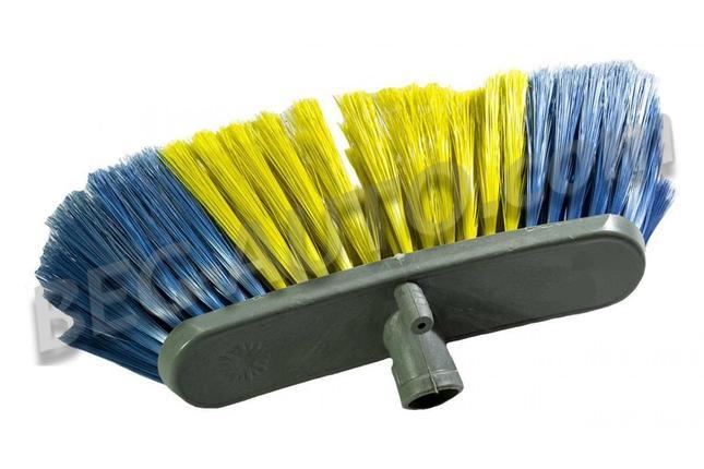 Щетка для подметания мягкая 30 см голубая АЗАЛИЯ, фото 2