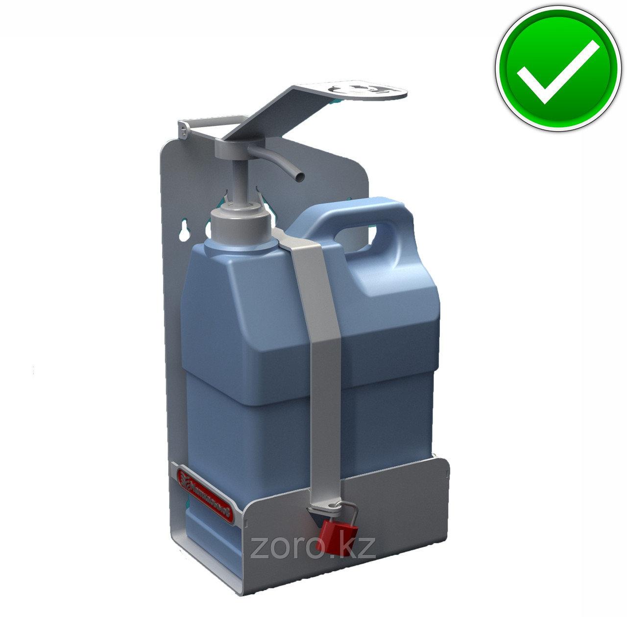 Настенный локтевой дозатор (диспенсер) для антисептика и жидкого мыла 2000 мл