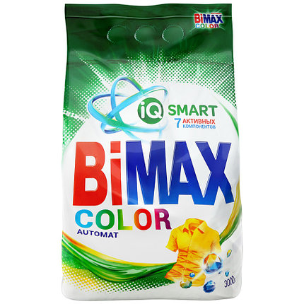 ПОРОШОК СТИРАЛЬНЫЙ BIMAX 9кг автомат 100 пятен, фото 2