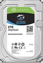 """Seagate ST8000VX004 Жесткий диск для видеонаблюдения 8Tb SkyHawk SATA3 3.5"""""""