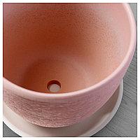 СКАКИГ Горшок цветочный, светло-розовый, фото 1