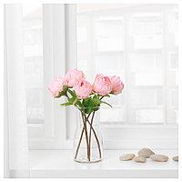 СМИККА Цветок искусственный, Пион, розовый, 30 см, фото 1