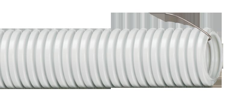 Труба гофр.ПВХ d 20 с зондом (10 м) IEK