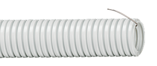 Труба гофр.ПВХ d 32 с зондом (25 м) ИЭК