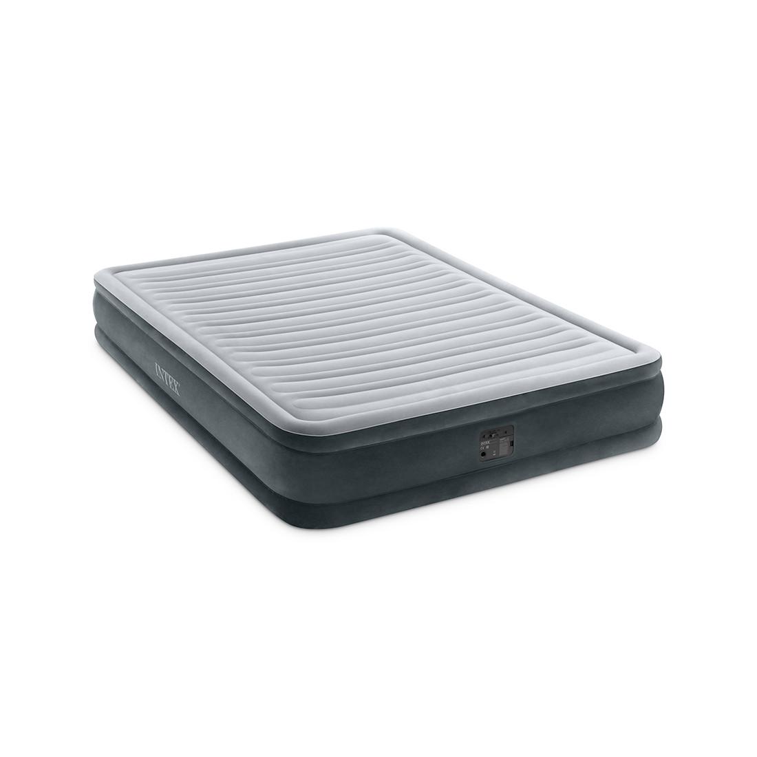 Матрас надувной Intex 67770NP (серый)