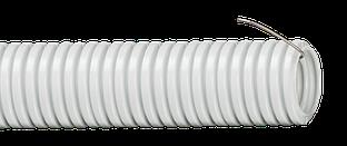 Труба гофр.ПВХ d 40 с зондом (15 м) ИЭК