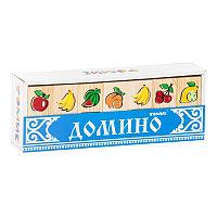 """Домино """"Фрукты-ягоды"""""""